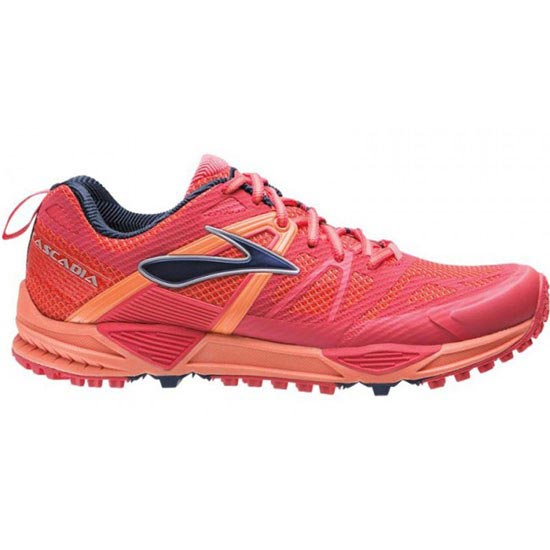 Brooks Cascadia 10 W - Flamingo/Creamsicle/Blueprint