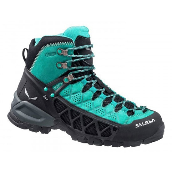 Salewa Alp Flow Gtx W - Venom/Bright Acqua