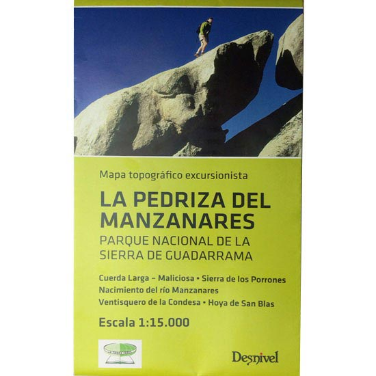 Ed. Desnivel Mapa la Pedriza del Manzanares 1:15000 -