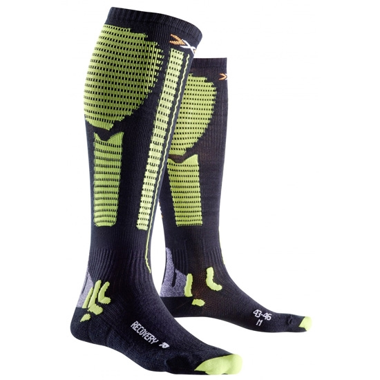 Xsocks Effektor Recovery - Black/Acid Green
