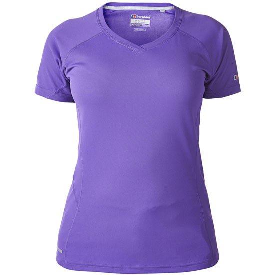 Berghaus Short Sleeve Crew Neck Technical T-Shirt W - Purple