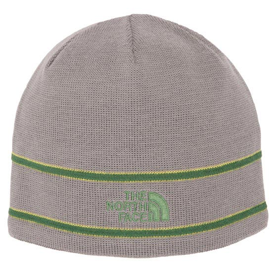 The North Face TNF Logo Beanie - Pache Grey