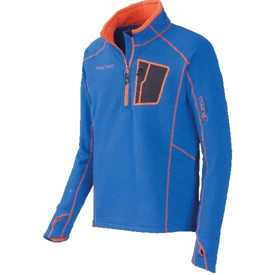Trangoworld Pullover TRX2 Stretch - Bleu