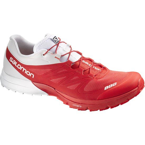 Salomon S-Lab Sense 4 Ultra - Red/White/Red