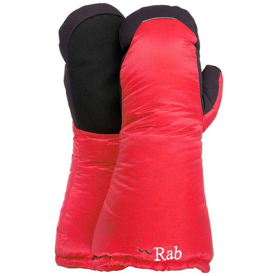 Rab Endurance Down Mitt - Cherry