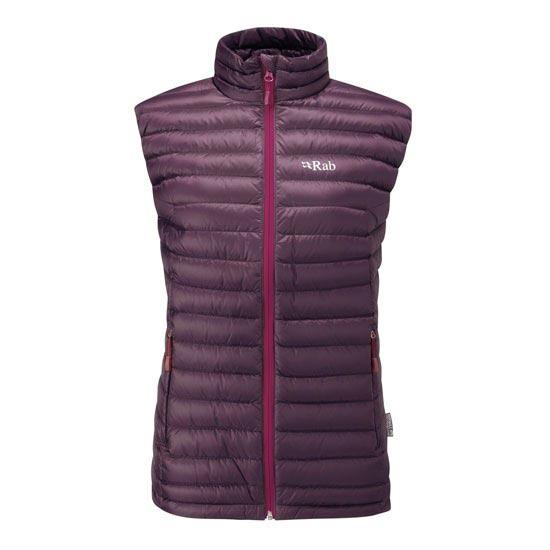 Rab Microlight Vest W - Aubergine