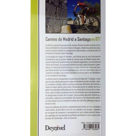 Ed. Desnivel Camino De Madrid a Santiago En BTT - Photo of detail