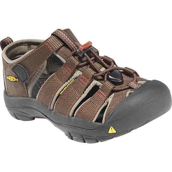 Keen Newport H2 Kids - Slate Black/Burnt Henna