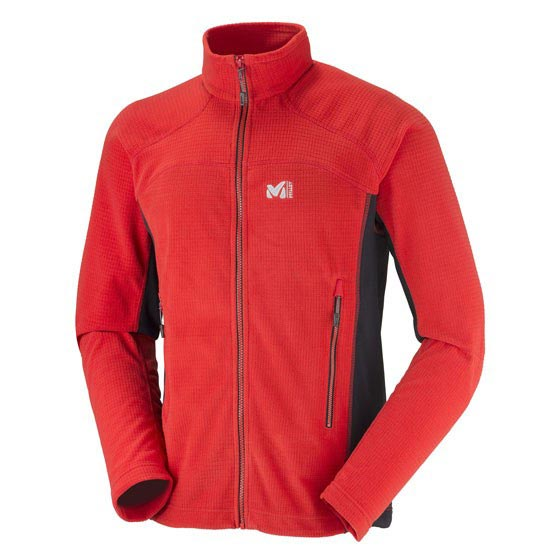 Millet Vector Grid Jacket - Red/Black
