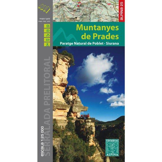 Ed. Alpina Mapa Muntanyes de Prades -