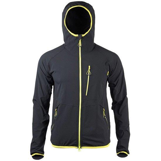 Ternua Cloudburst Jacket - Negro/Amarillo