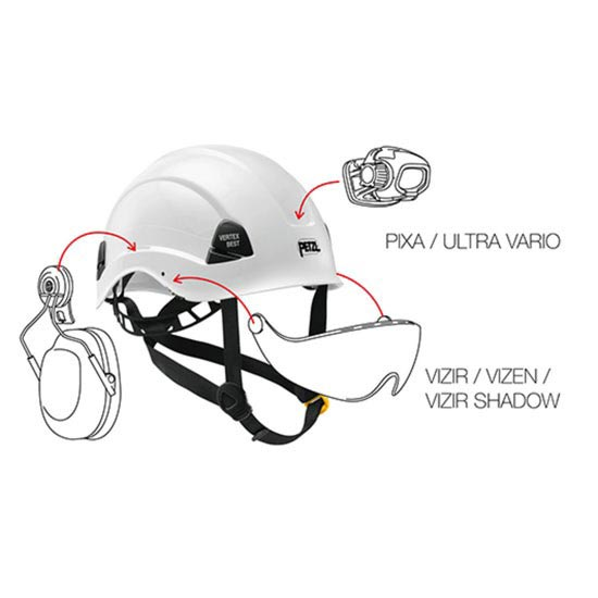 Petzl Vertex Vent - Photo de détail