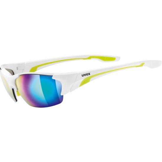 Uvex Blaze III Blanc/Vert S3/S1/S0 - White Green/Mirror Green