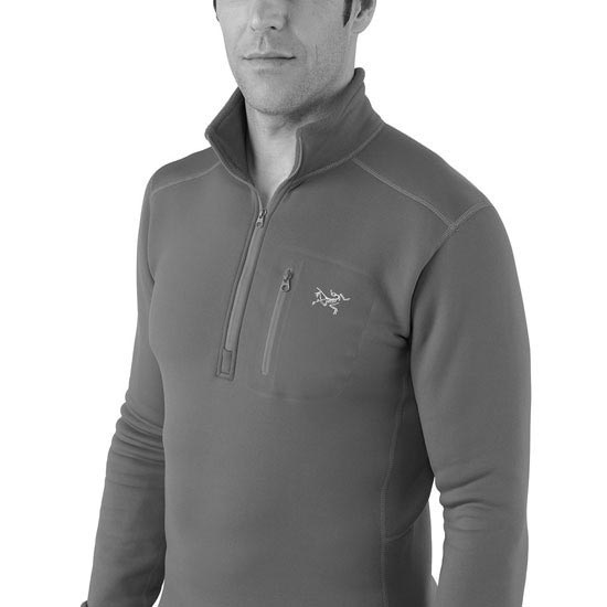 Arc'teryx Rho Ar Zip Neck - Photo of detail