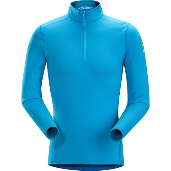 Arc'teryx Phase AR Zip Neck LS - Adriatic Blue