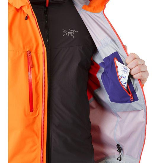 Arc'teryx Procline Comp Jacket - Photo de détail