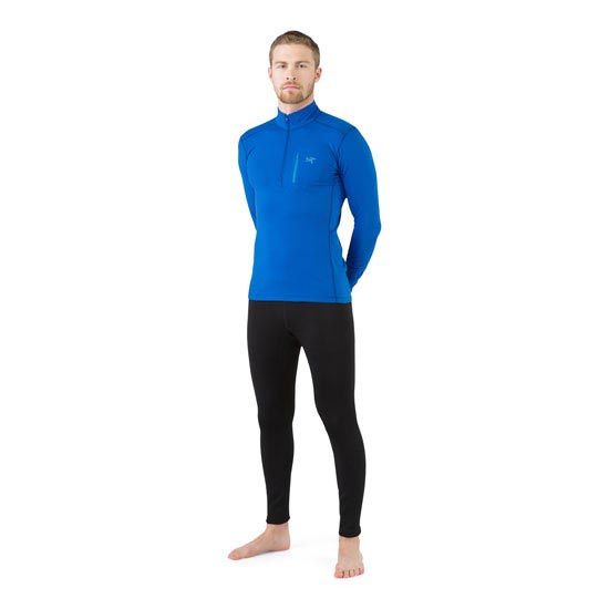 Arc'teryx Rho Lt Zip Neck - Photo de détail