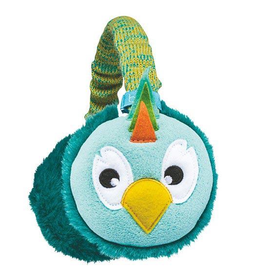 Bula Puppet Earmuff Kids - Parrot