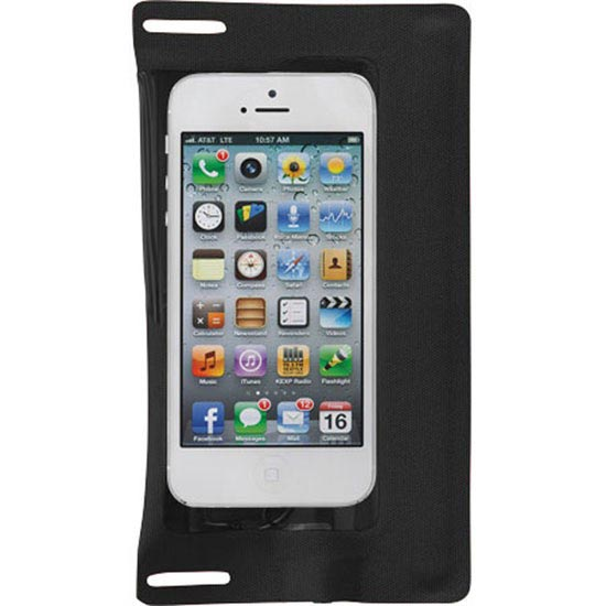 Ecase iPod®/iPhone® 5 case with jack - Black