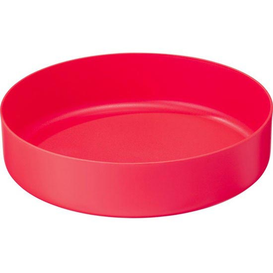 Msr Deep Dish Plate - Red