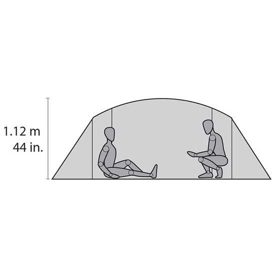 Msr Pappa Hubba NX Tent - Photo de détail