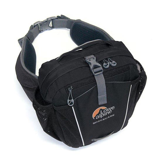 Lowe Alpine Space Case - Black/Pumpkin