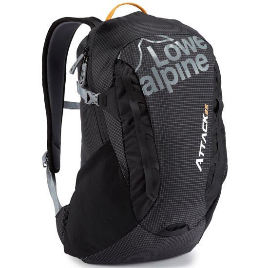 Lowe Alpine Attack 25 - Black/Tangerine