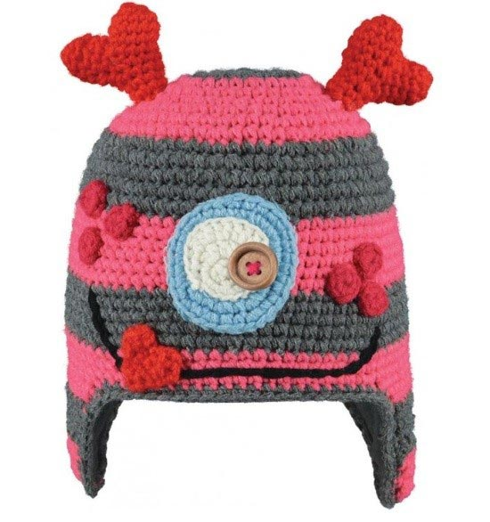 Barts Monster Beanie - Rose