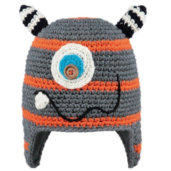 Barts Monster Beanie - Orange