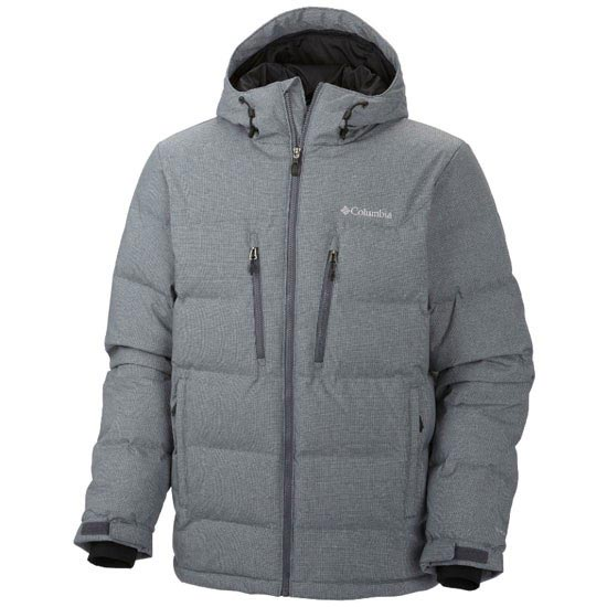 Columbia Alaskan II Down Hooded Jacket - Graphite
