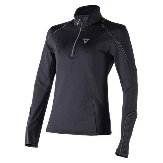 Dainese Fleece Lady Small Zip E1 - Black/Steel Gray
