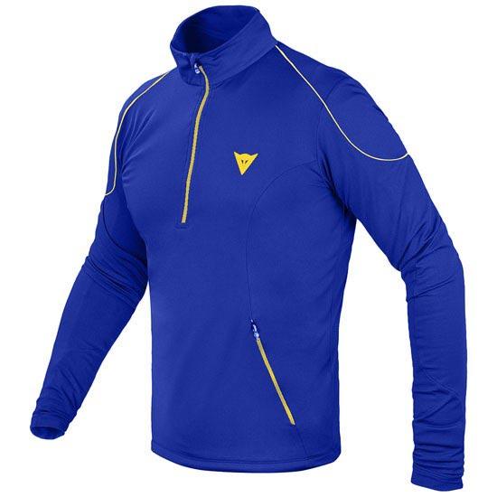 Dainese Fleece Man Small Zip E1 - Blue/Lemon