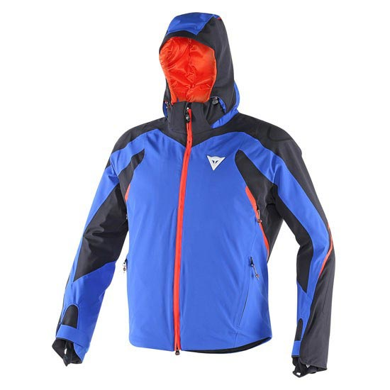 Dainese Egemone D-Dry Jacket - Ski Blue/Black/Light Red
