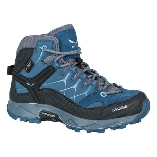 Salewa Alp Trainer Mid Gtx Jr - Dark Denim/Charcoal