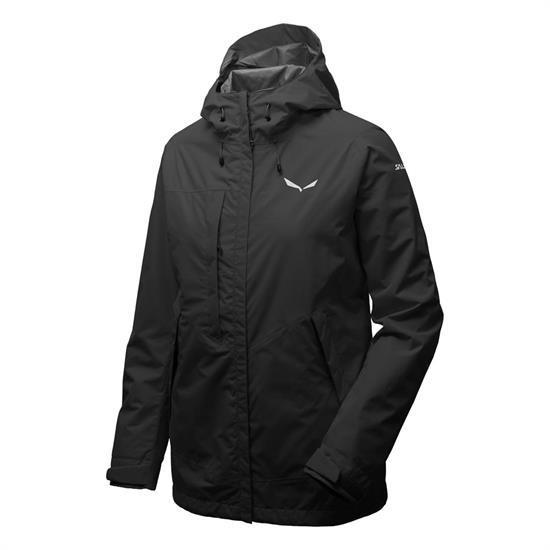Salewa Puez Clastic Ptx 2L Jacket W - Black Out