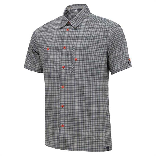 Millet Castle Peak Stretch Shirt SS - Smoked Pear