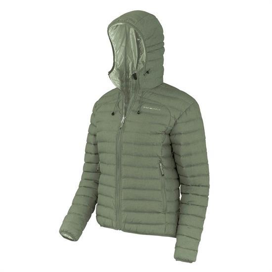 Trangoworld Naspe Jacket W - Verde Marrón