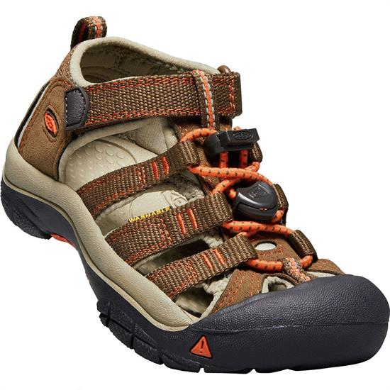 Keen Newport H2 Little Kid - C Dark Earth/spicy Orange