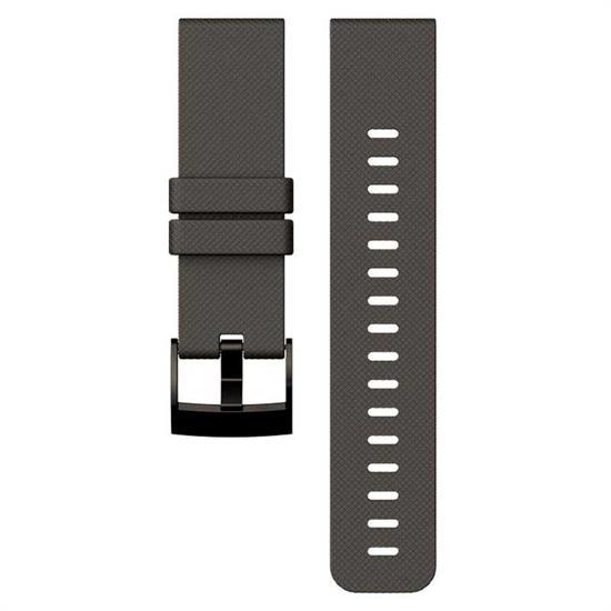 Suunto Traverse Graphite Silicon Strap -