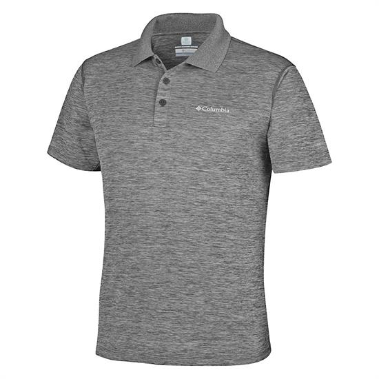 Columbia Zero Rules Polo Shirt - Shark Heather