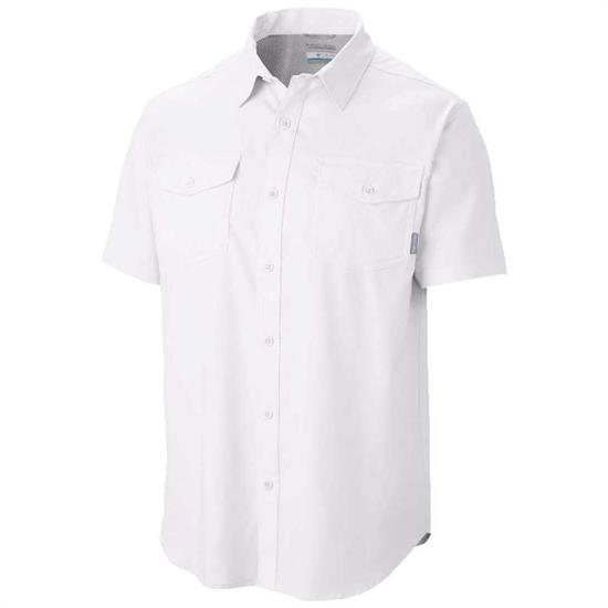 Columbia Utilizer II Solid S/S Shirt - 100
