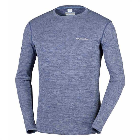 Columbia Zero Rules L/S Shirt - Carbon Heather