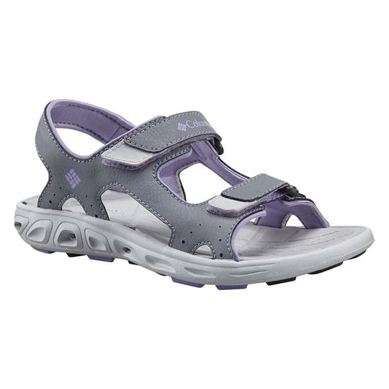 Columbia Techsun Vent Youth - Tradewinds Grey White Violet