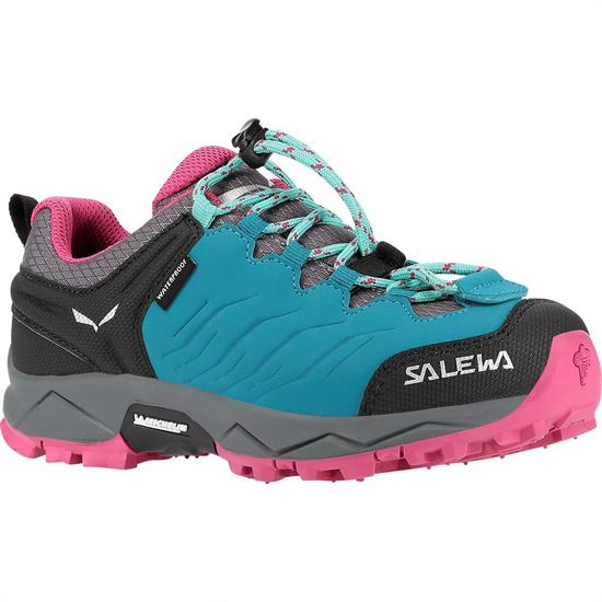 Salewa Mtn Trainer Wp Jr - Malta/Vivacious