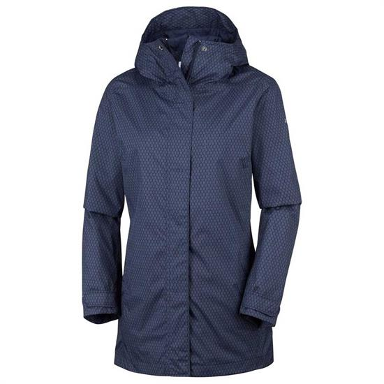 Columbia Splash A Little II Jacket W - Nocturnal Mini Hex Print