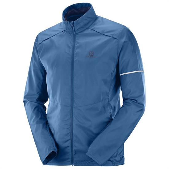 Salomon Agile Wind Jacket - Poseidon