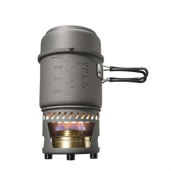 Esbit Cookset With Alcohol Burner 985Ml Inox -