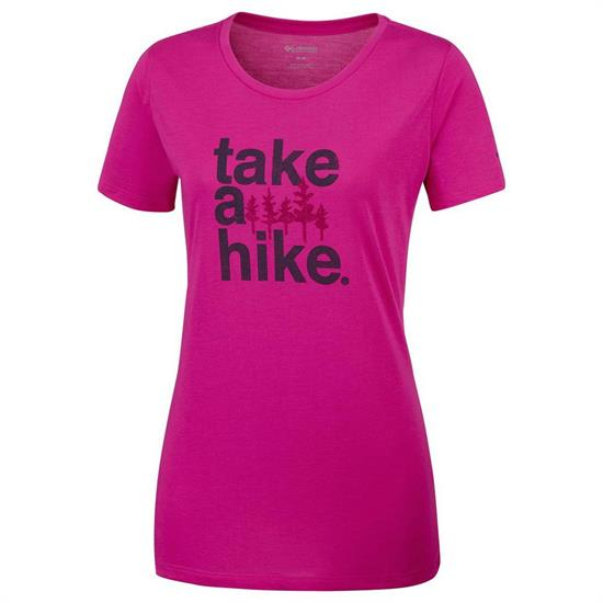 Columbia Outdoor Elements III Tee W - Haute Pink