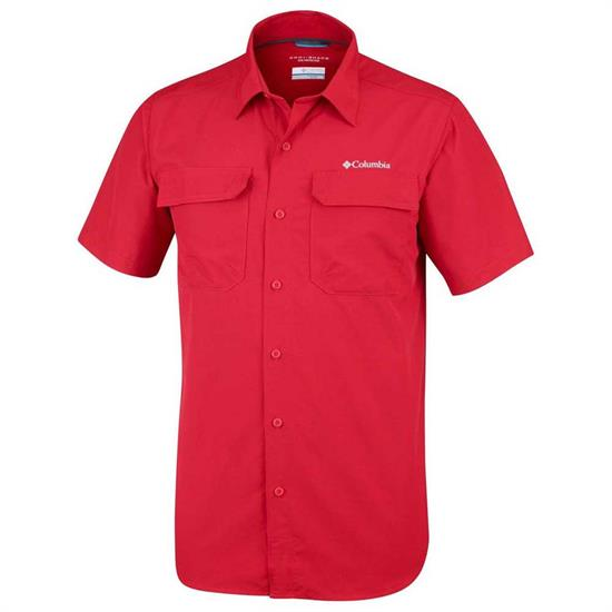 Columbia Silver Ridge II Shirt - Mountain Red
