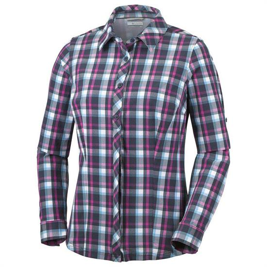 Columbia Saturday Trail Plaid LS Shirt W - 404